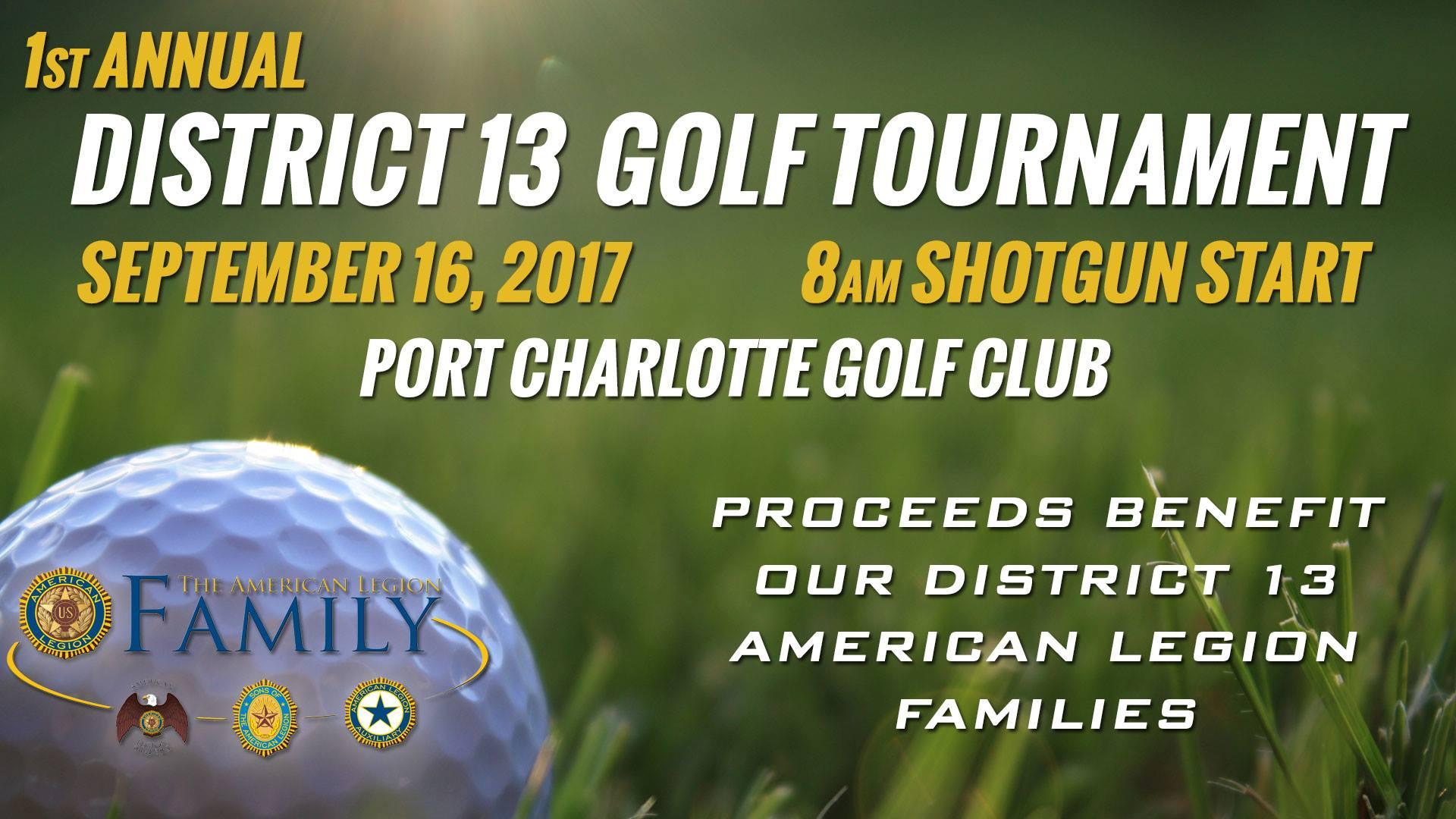 District 13 Golf Tournament